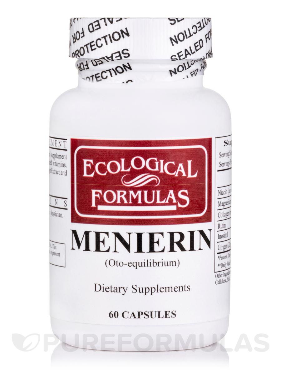 Menierin (Oto-equilibrium) - 60 Capsules