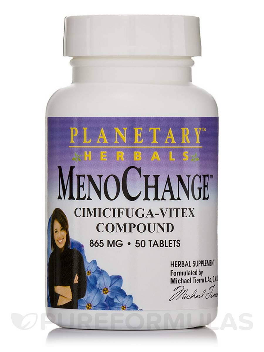 MenoChange Cimifuga-Vitex Compound 865 mg - 50 Tablets