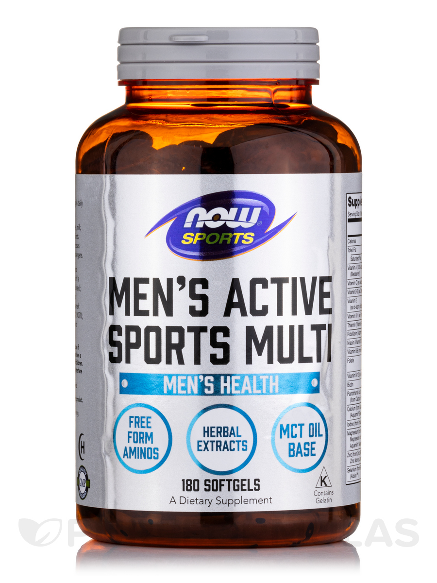 NOW® Sports - Men's Extreme Sports Multivitamin - 180 Softgels