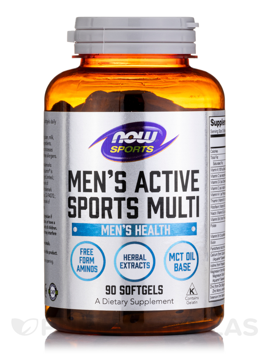 NOW® Sports - Men's Extreme Sports Multivitamin - 90 Softgels