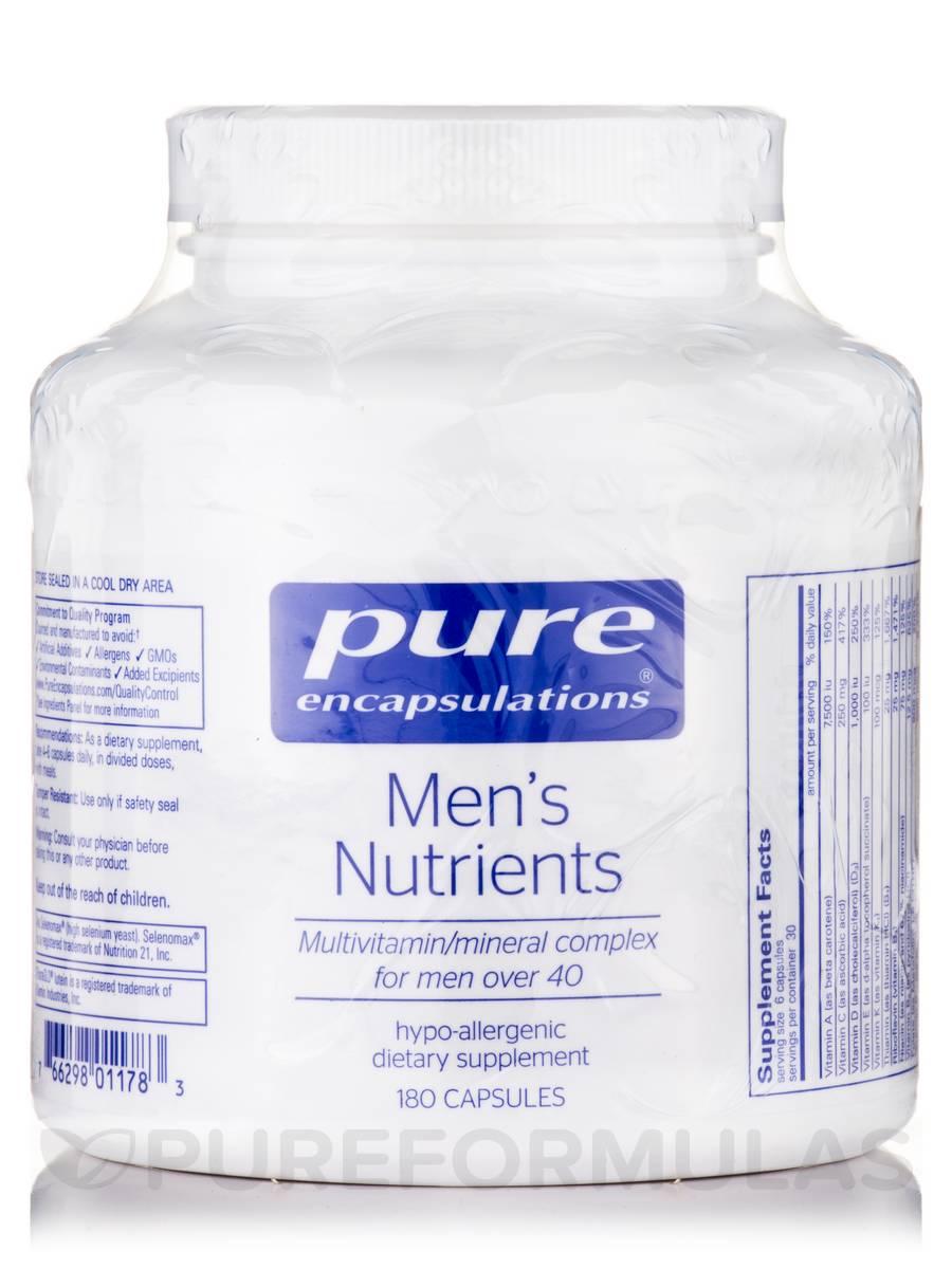 Men's Nutrients (over 40) - 180 Capsules