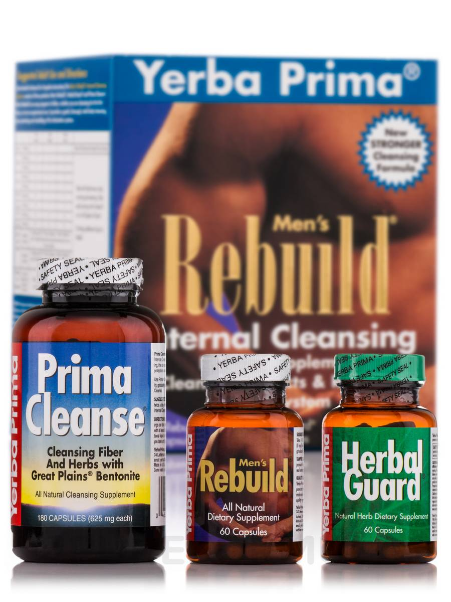 Men's Rebuild Cleansing Program - 3 Pieces