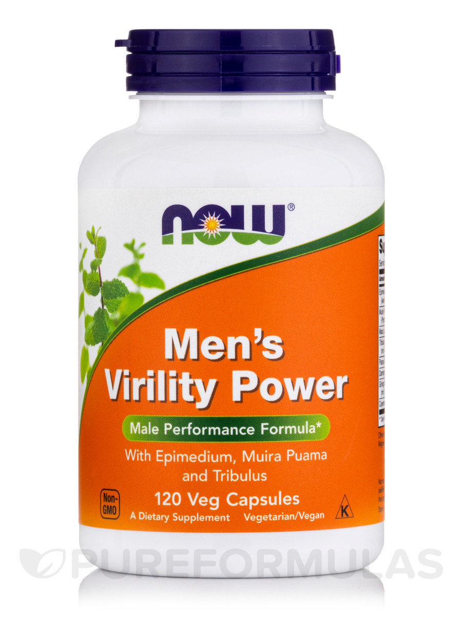 Men's Virility Power - 120 Veg Capsules