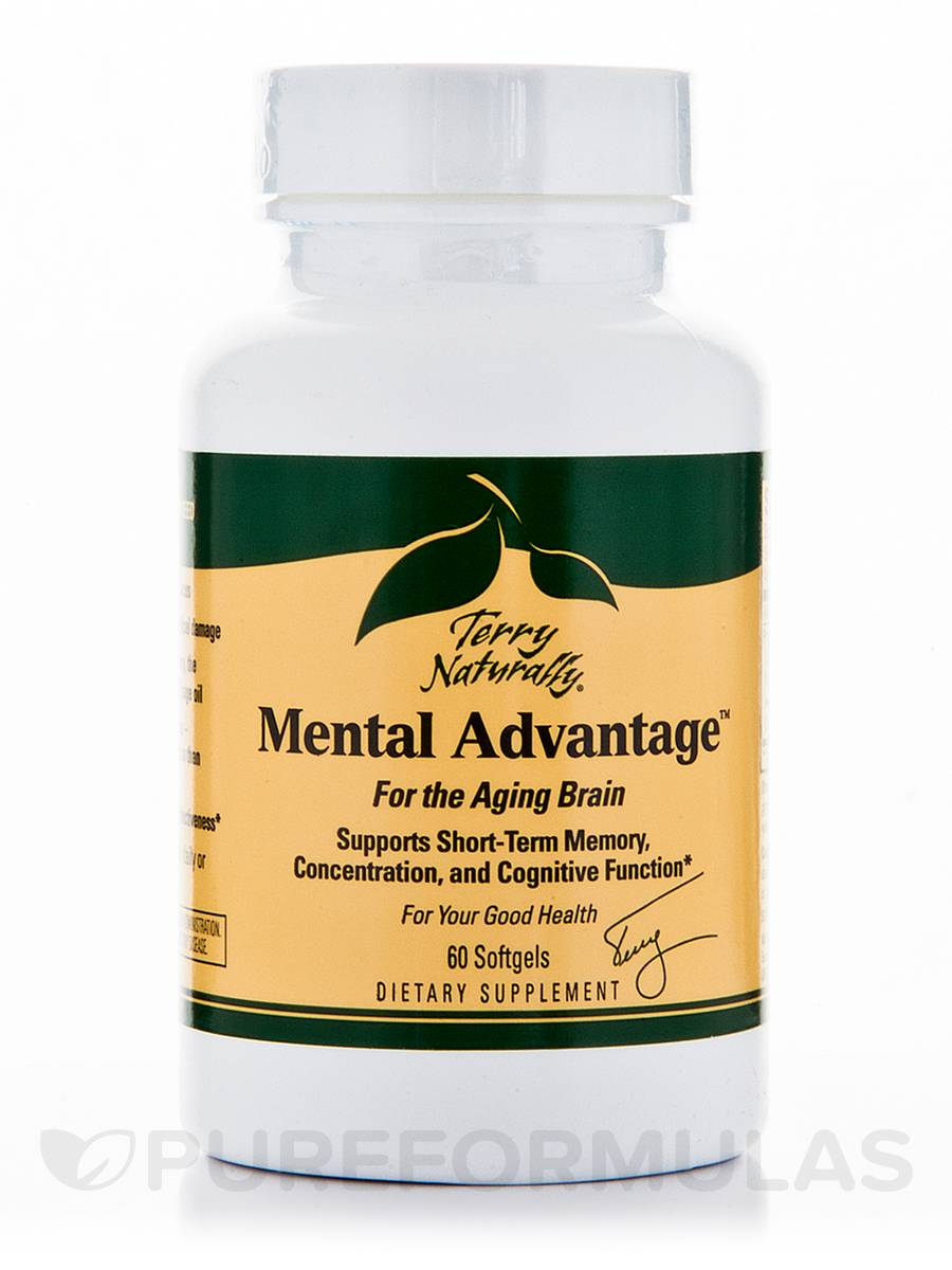 Mental Advantage - 60 Softgels