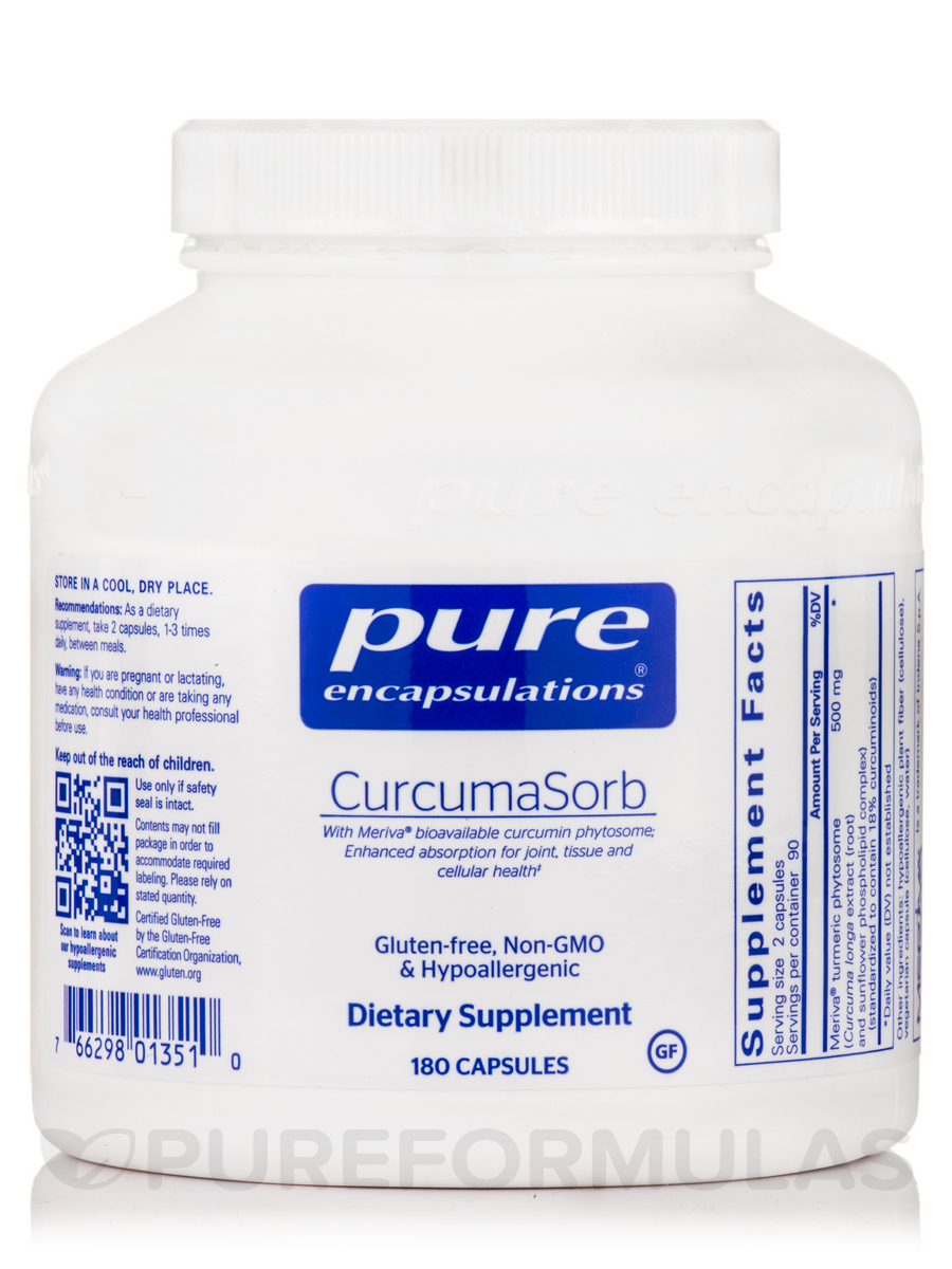 CurcumaSorb (formerly Meriva) - 180 Capsules