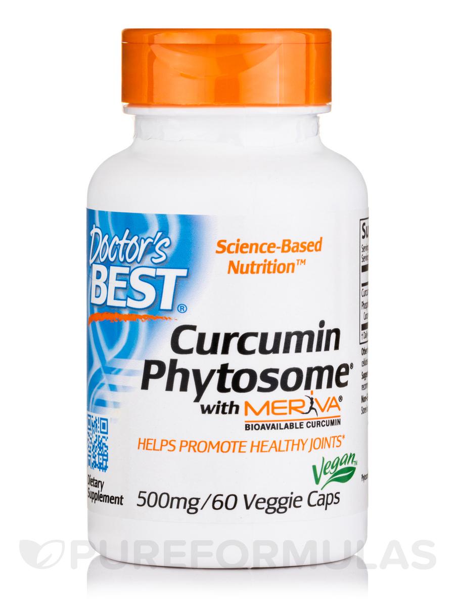 Curcumin Phytosome with Meriva® 500 mg - 60 Veggie Capsules