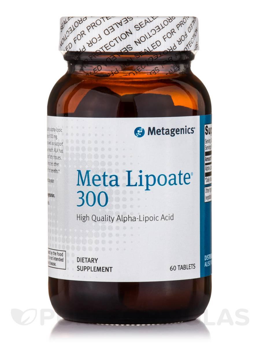 Meta Lipoate 300 - 60 Tablets