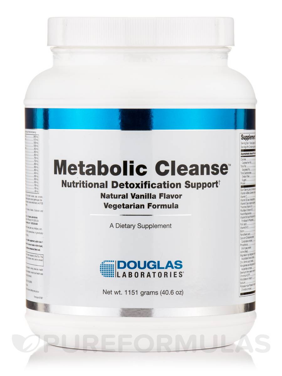 Metabolic Cleanse™ Vegetarian Formula (Natural Vanilla Flavor) - 1151 Grams