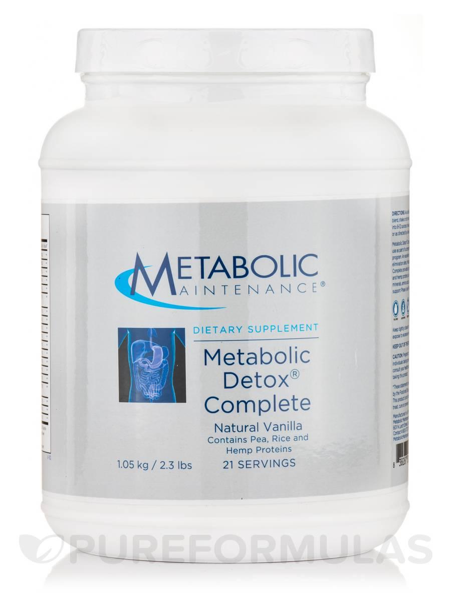 Metabolic Detox Complete - 21 Servings (2.3 lb / 1.05 kg)
