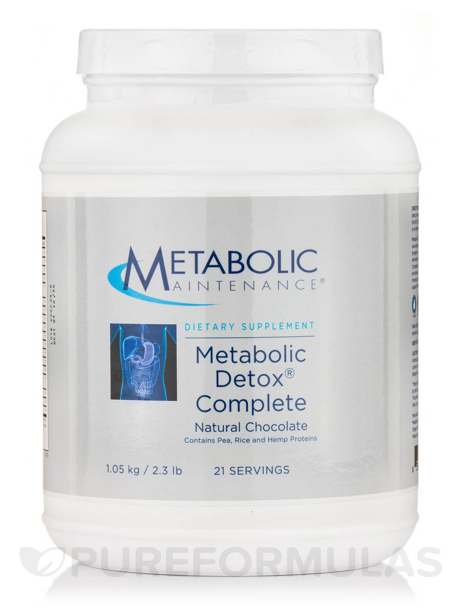 Metabolic Detox Complete Chocolate - 21 Servings (2.3 lbs / 1.05 kg)