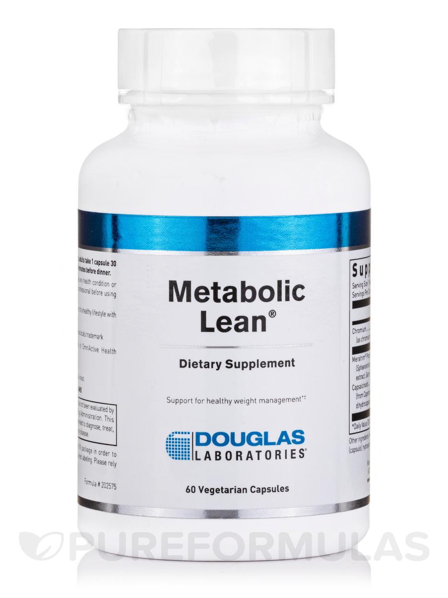 Metabolic Lean - 60 Vegetarian Capsules