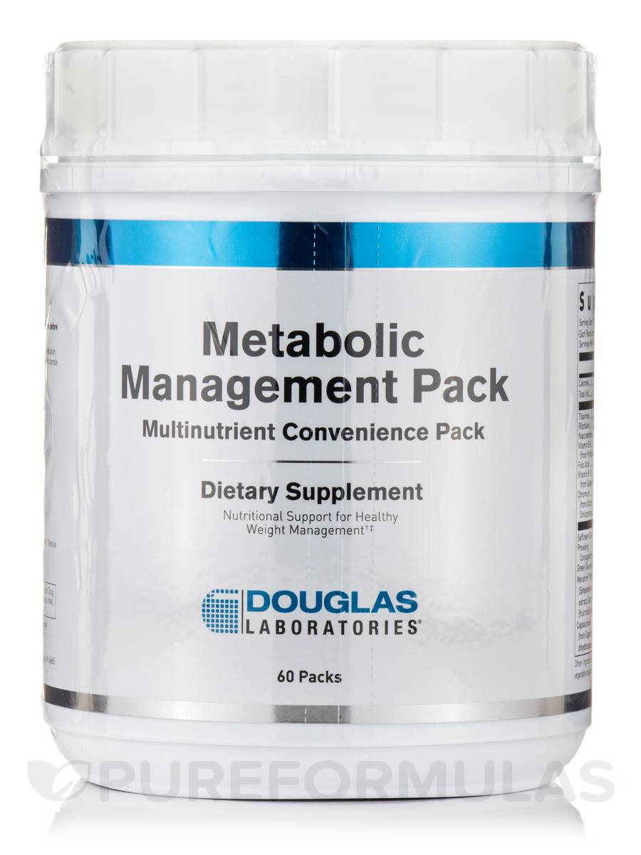 Metabolic Management - 60 Packs