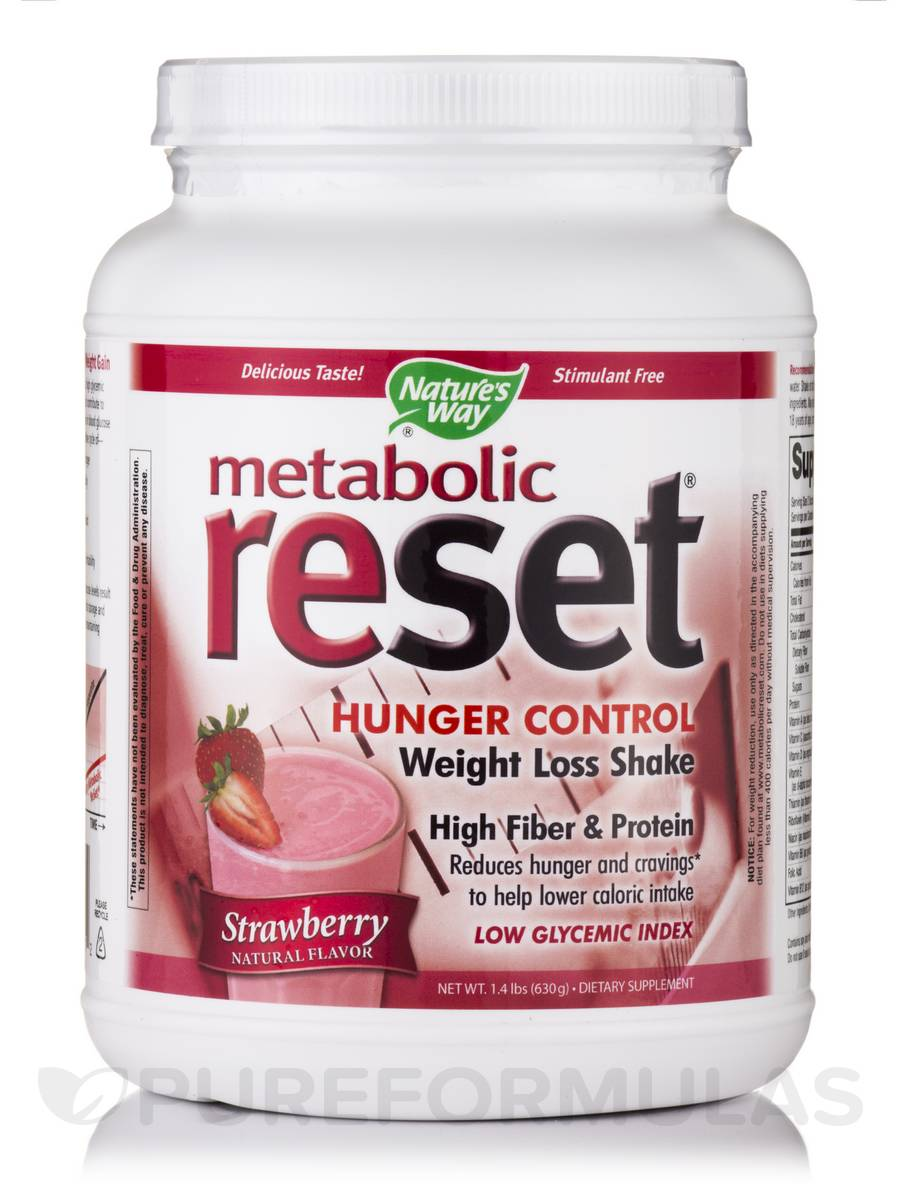Metabolic Reset Strawberry Shake - 1.4 lbs (630 Grams)