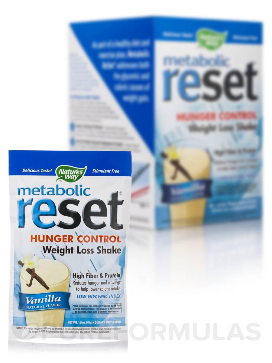 Metabolic Reset Vanilla Shake - 10 Packets (1.6 oz / 45 Grams each)