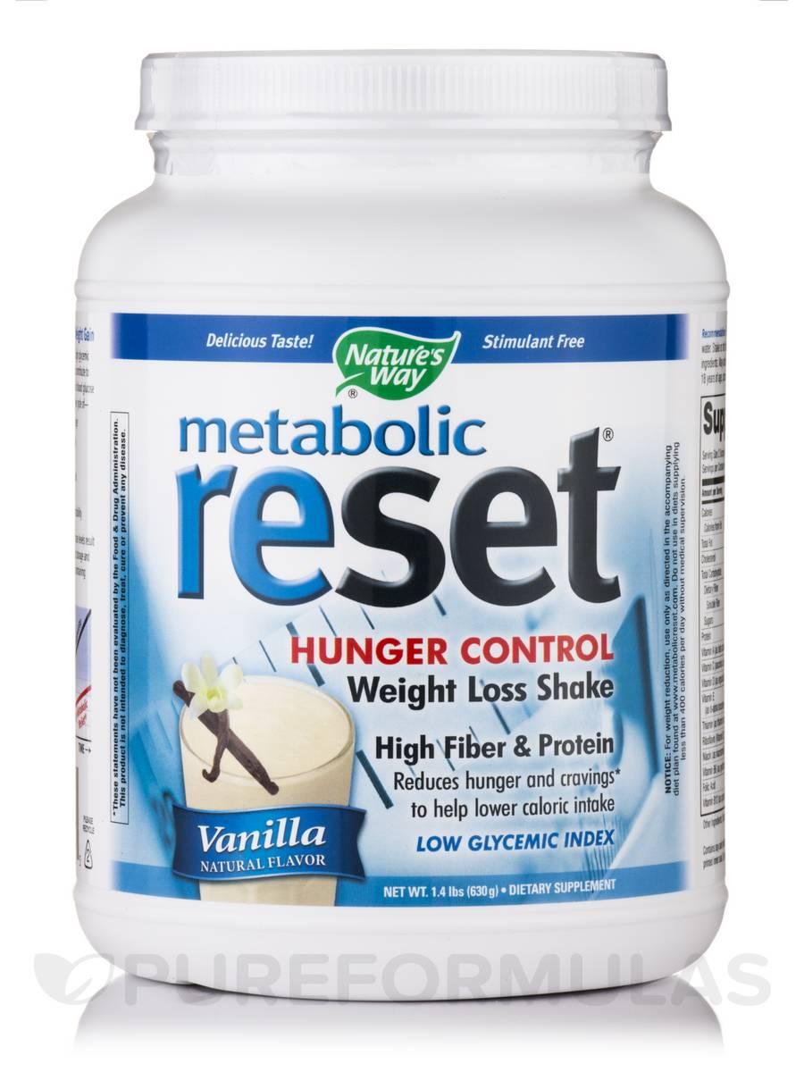 Metabolic Reset Vanilla Shake - 1.4 lbs (630 Grams)