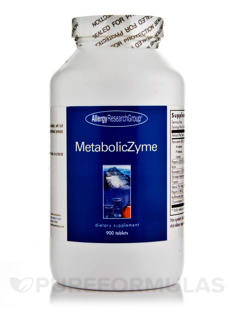 MetabolicZyme - 900 Tablets