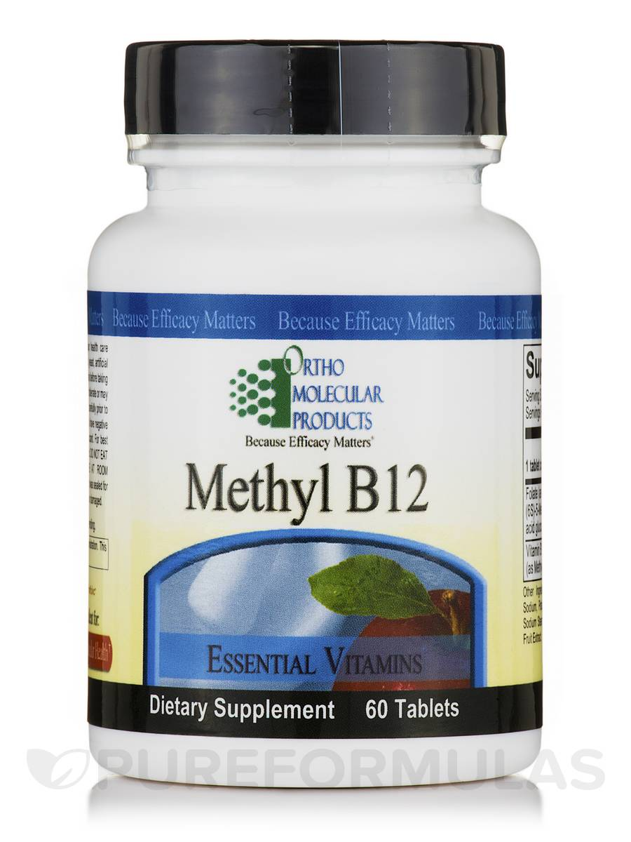 Methyl B12 - 60 Tablets