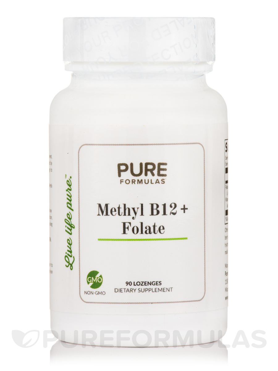 Methyl B12 + Folate - 90 Lozenges
