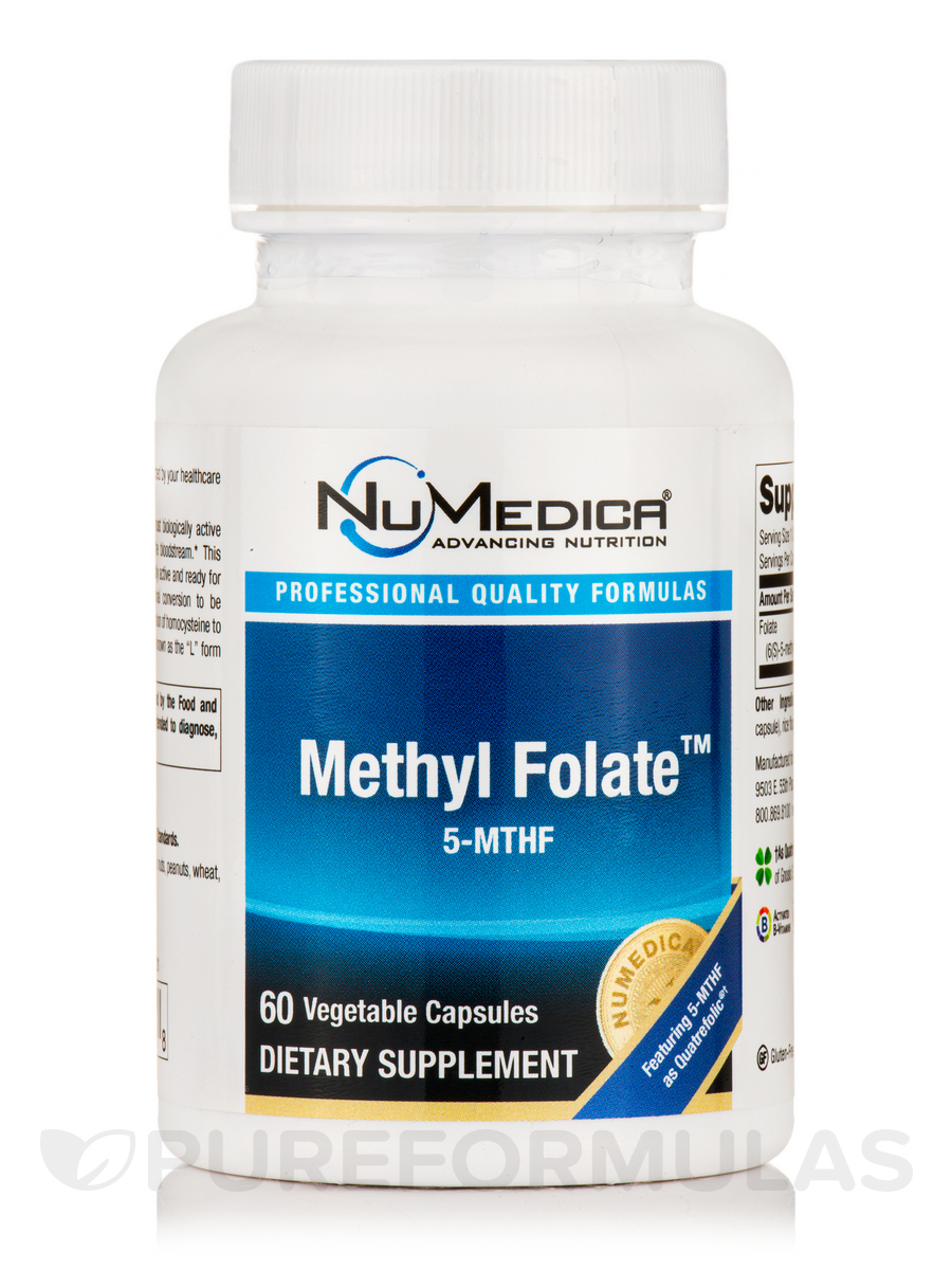 Methyl Folate™ - 5-MTHF - 60 Vegetable Capsules