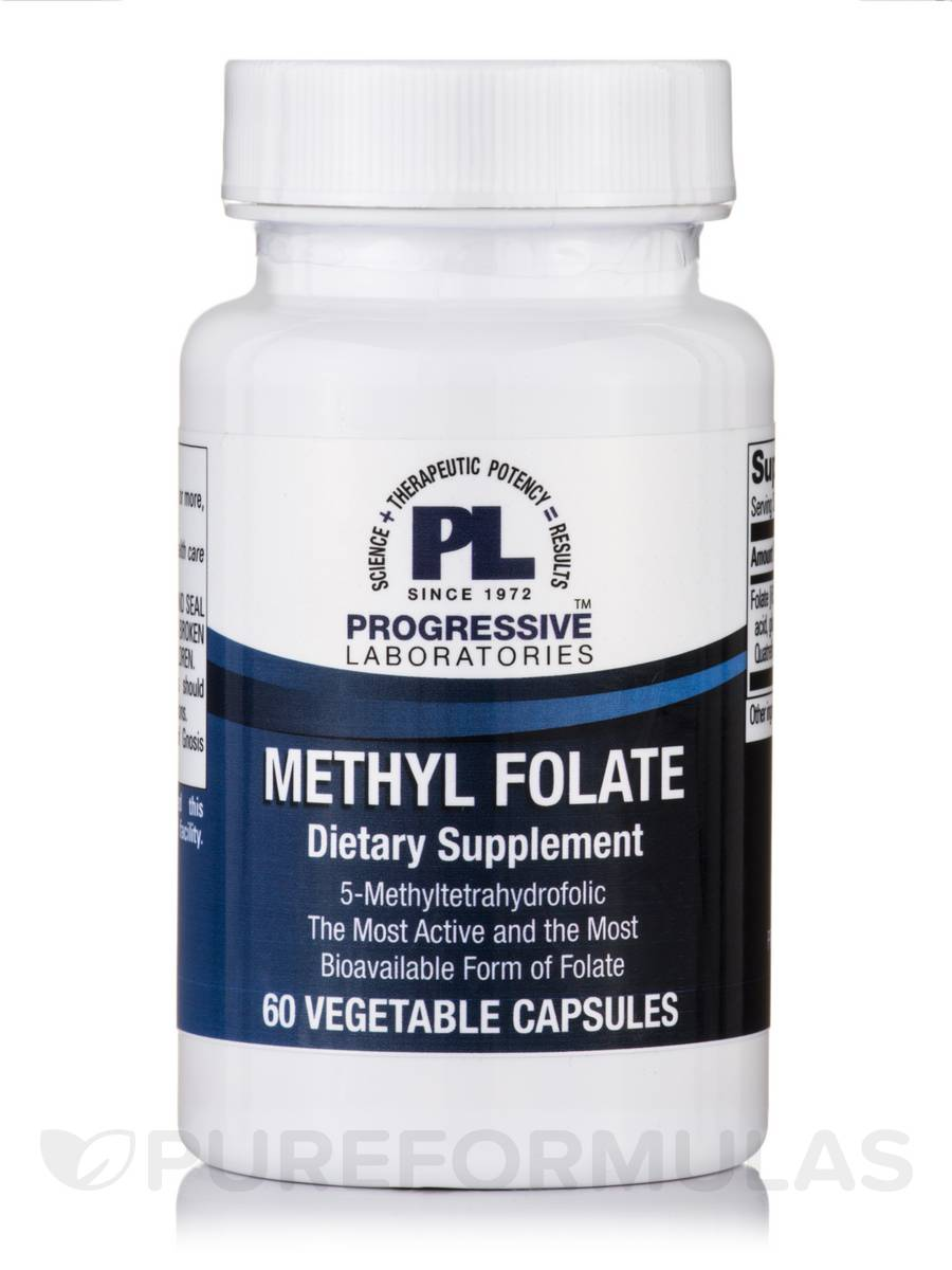 Methyl Folate - 60 Vegetable Capsules