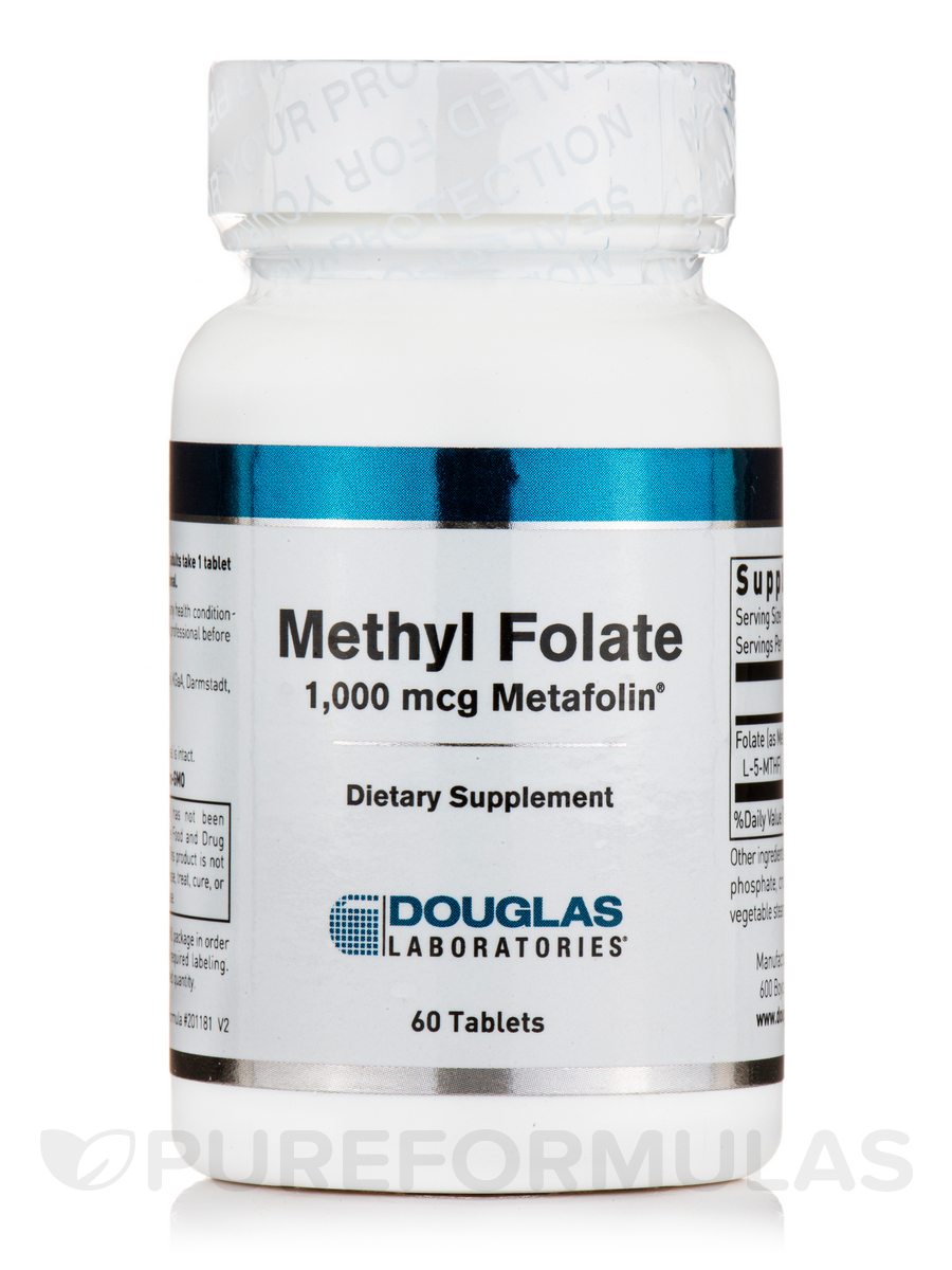 Methyl Folate L-5-MTHF - 60 Tablets