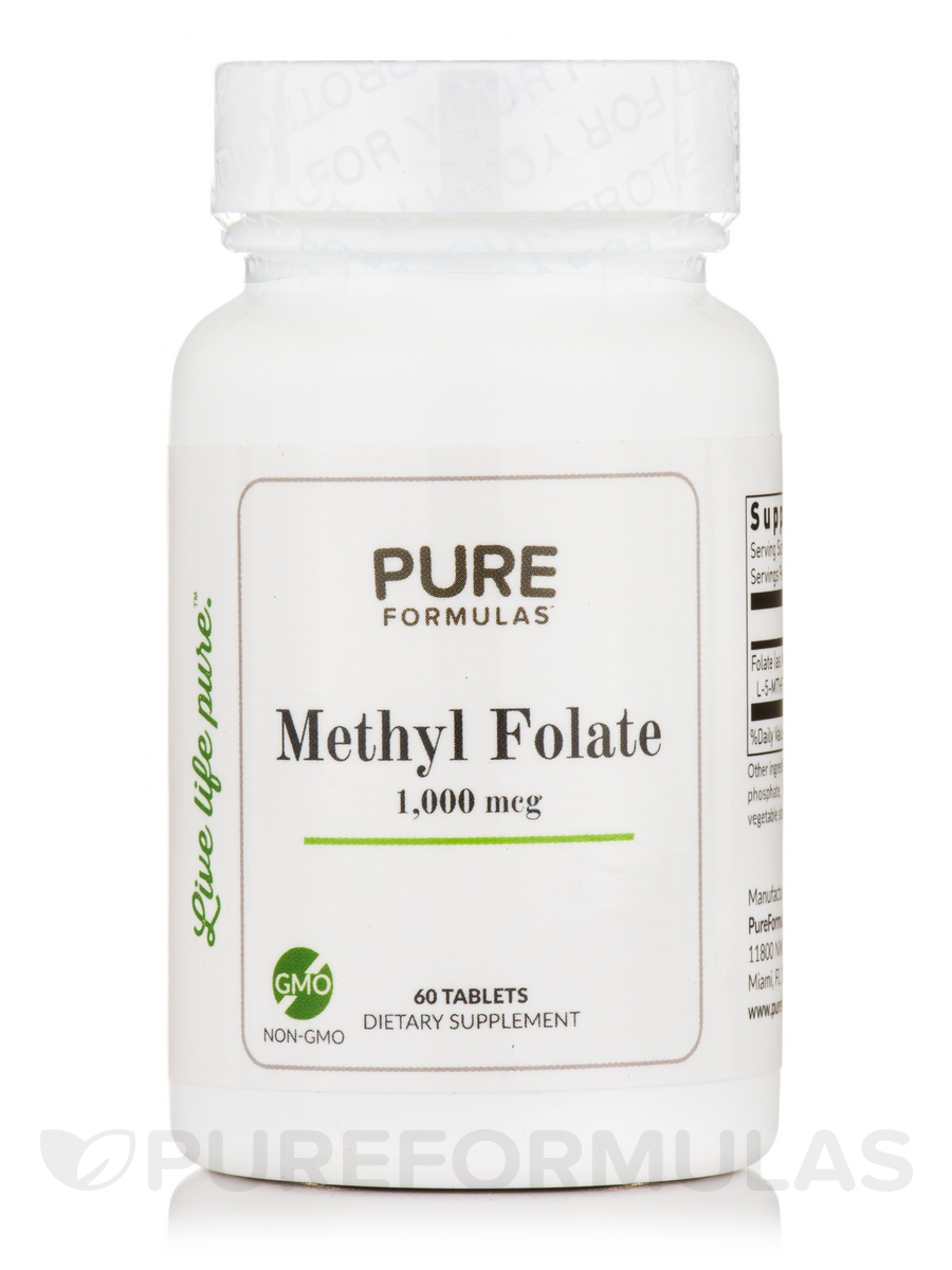 Methyl Folate 1,000 mcg - 60 Tablets