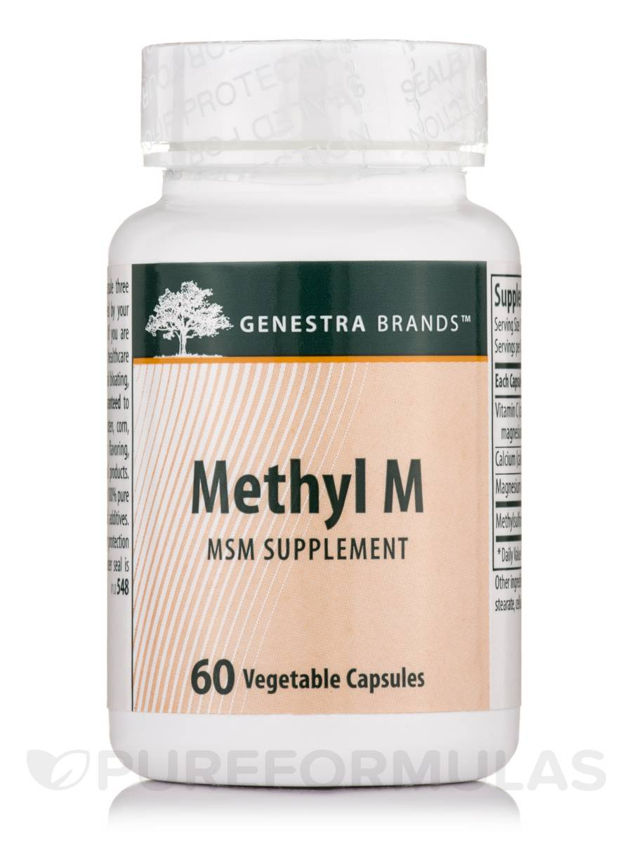 Methyl M - 60 Vegetable Capsules