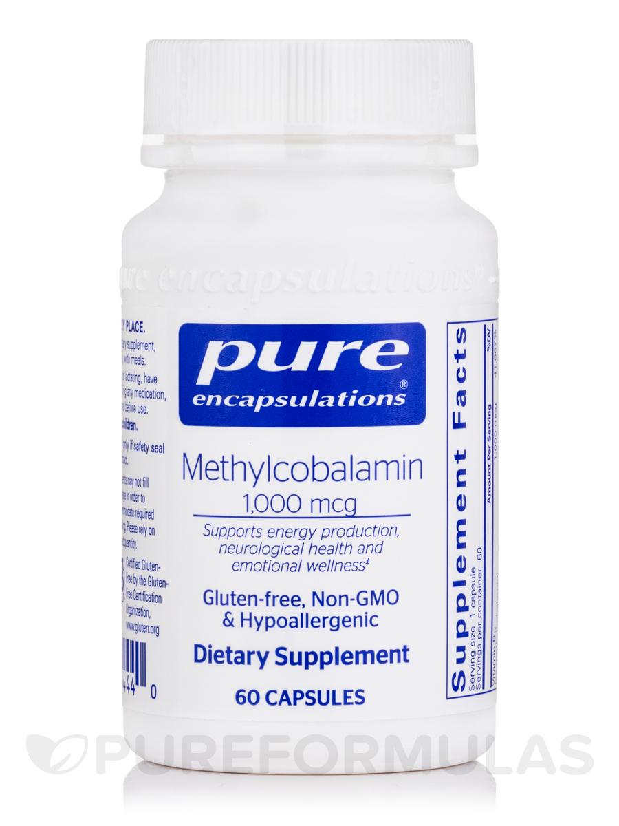 Methylcobalamin 1000 mcg - 60 Capsules