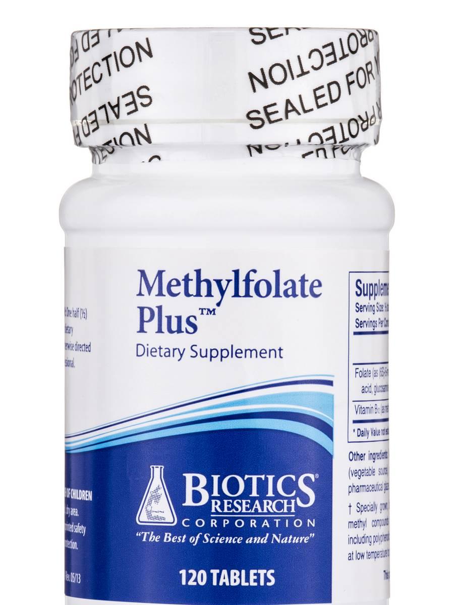 Methylfolate Plus - 120 Tablets