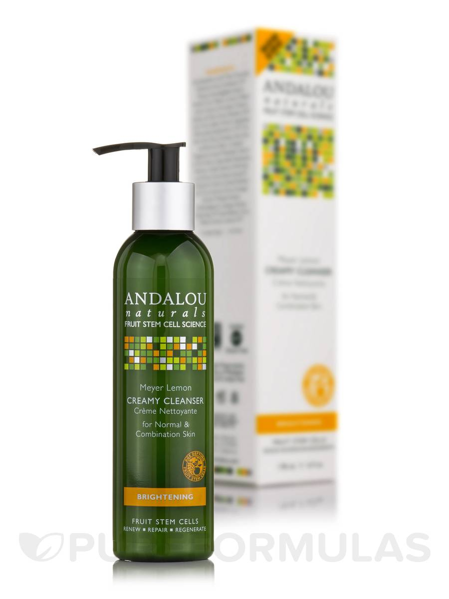 Brightening Meyer Lemon Creamy Cleanser - 6 fl. oz. by Andalou Naturals (pack of 2) Estee Lauder - Hydrationist Maximum Moisture Creme (For Normal/ Combination Skin) -50ml/1.7oz