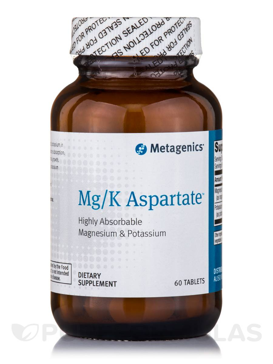 Mg/K Aspartate - 60 Tablets