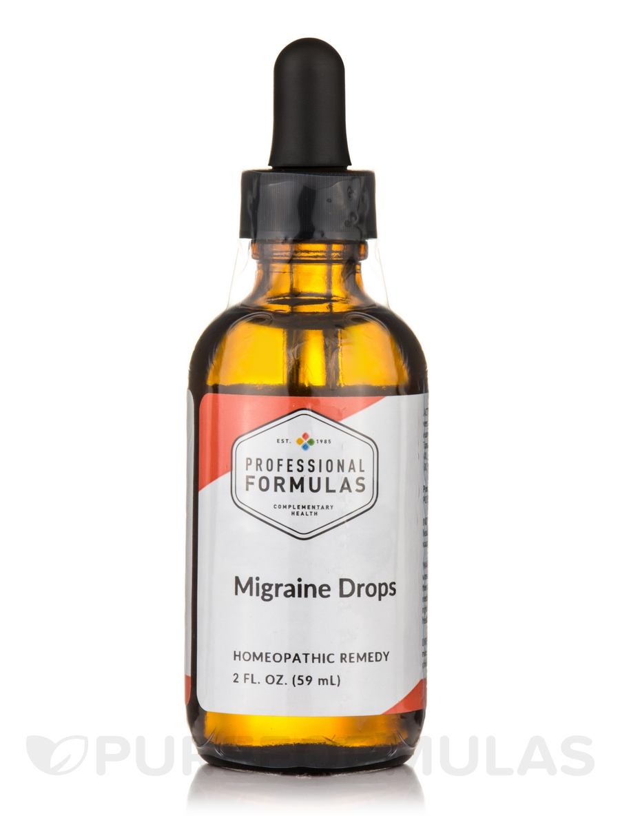 Migraine Drops - 2 fl. oz (60 ml)