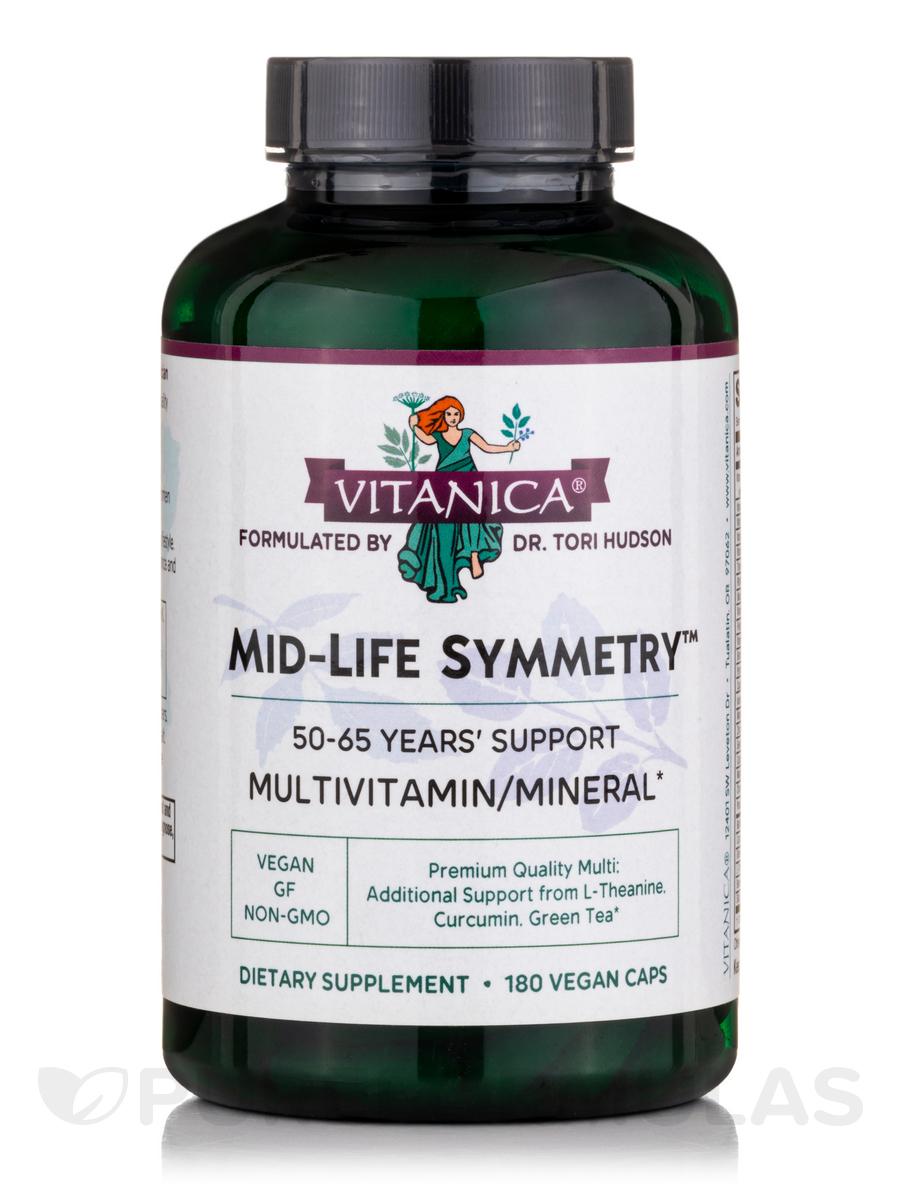 Mild-Life Symmetry - 180 Vegetarian Capsules