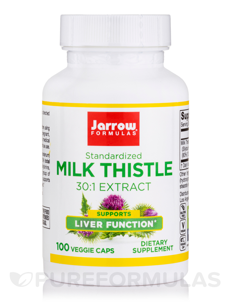 Milk Thistle 150 mg - 100 Capsules