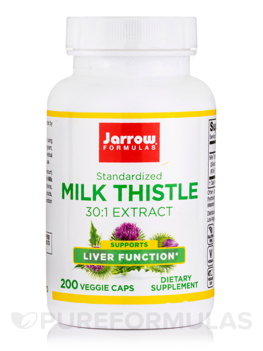 Milk Thistle 150 mg - 200 Capsules