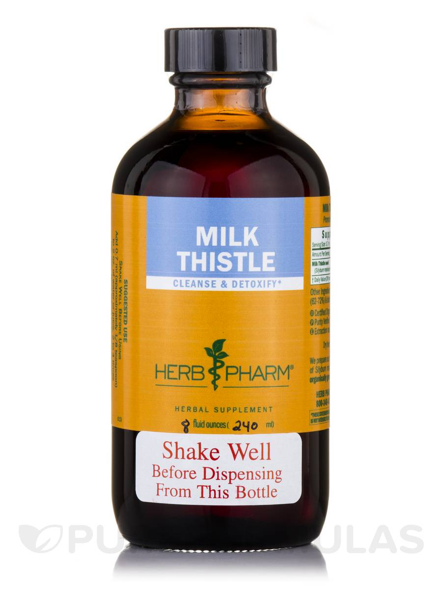 Milk Thistle - 8 fl. oz (240 ml)