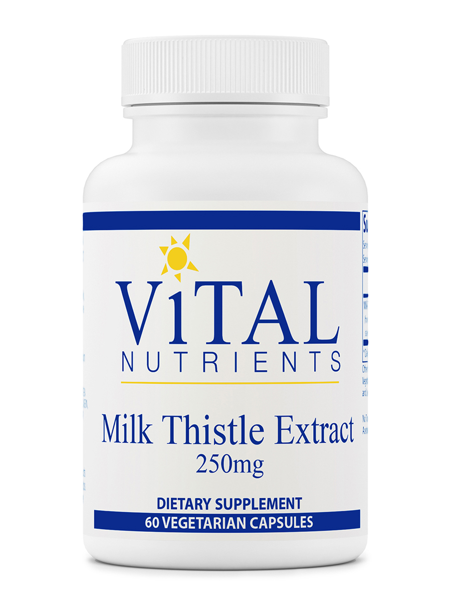 Milk Thistle Extract (Ethanol/Water Extract) 250 mg - 60 Capsules