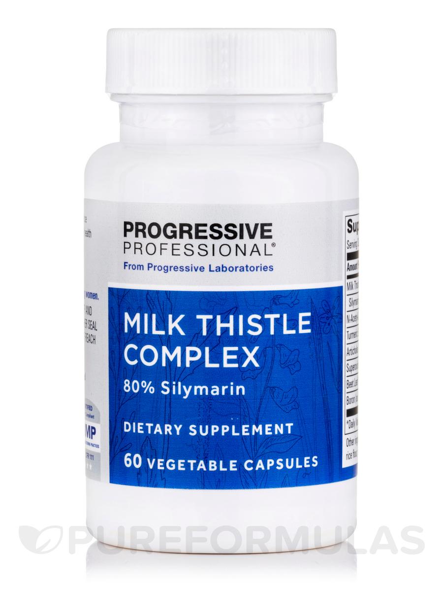 Milk Thistle Complex - 60 Vegetable Capsules