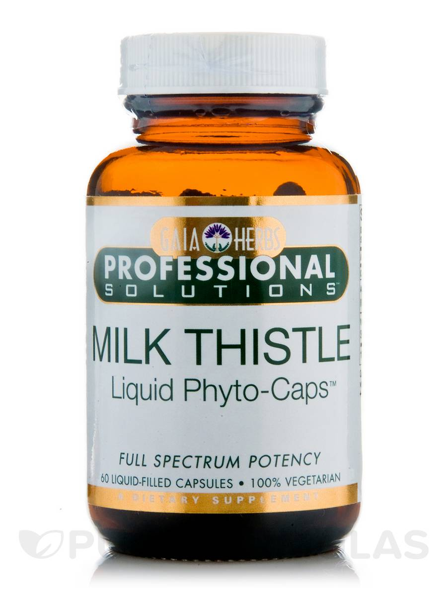 Milk Thistle Seed - 60 Vegetarian Liquid-Filled Capsules