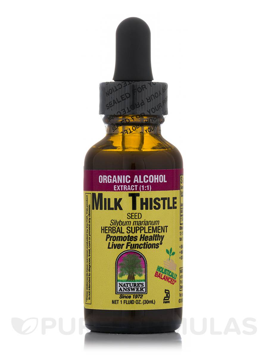 Milk Thistle Seed Extract - 1 fl. oz (30 ml)