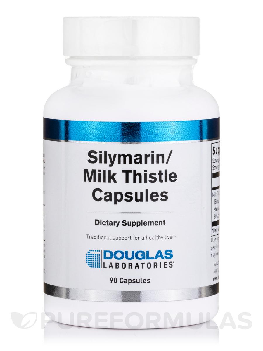 Silymarin / Milk Thistle - 90 Capsules
