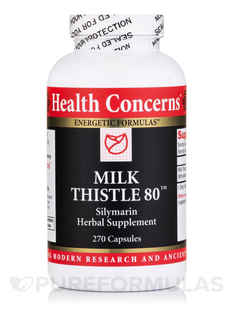 Milk Thistle-80 - 270 Tablets