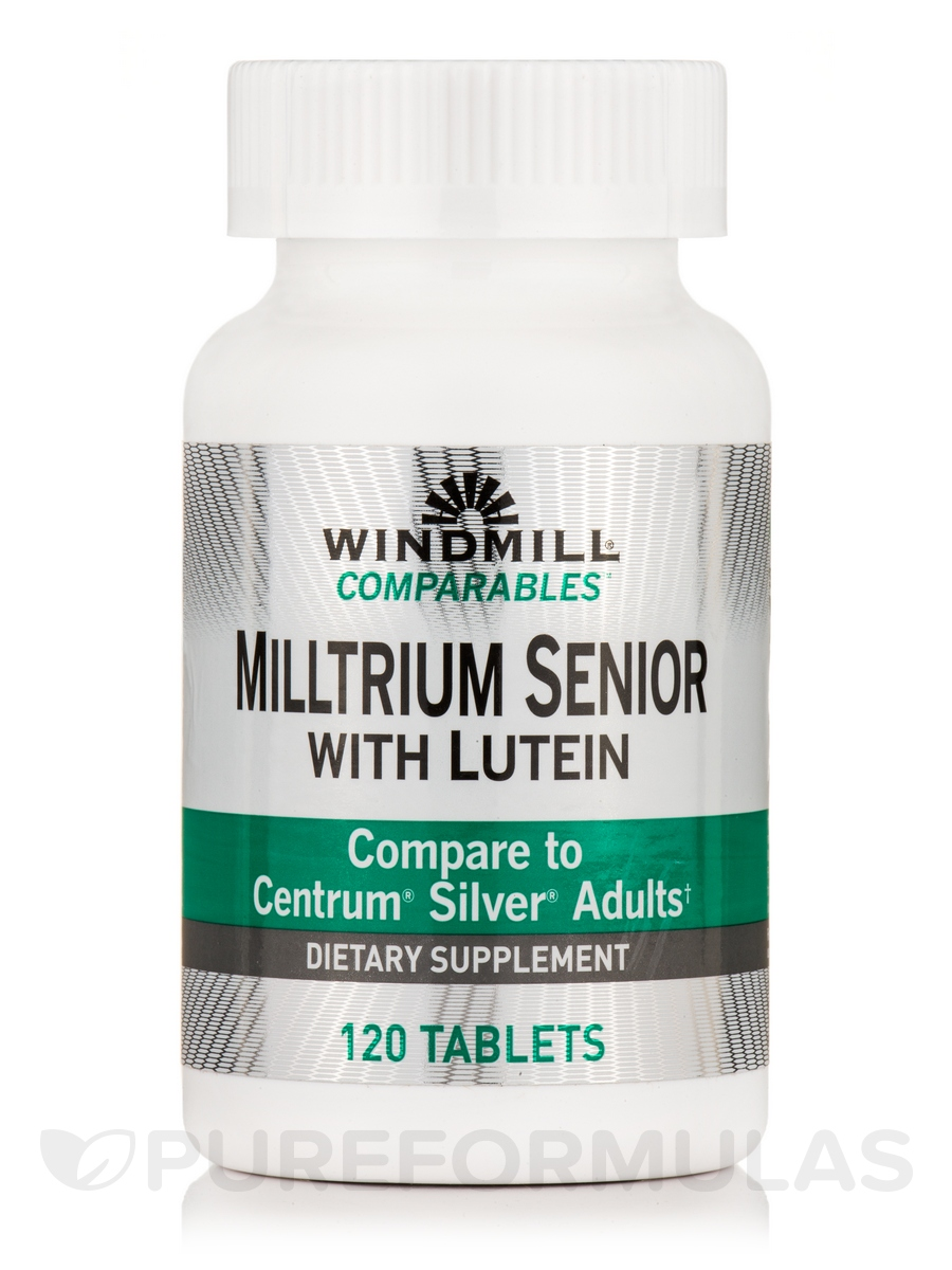 Milltrium Senior with Lutein - 120 Tablets