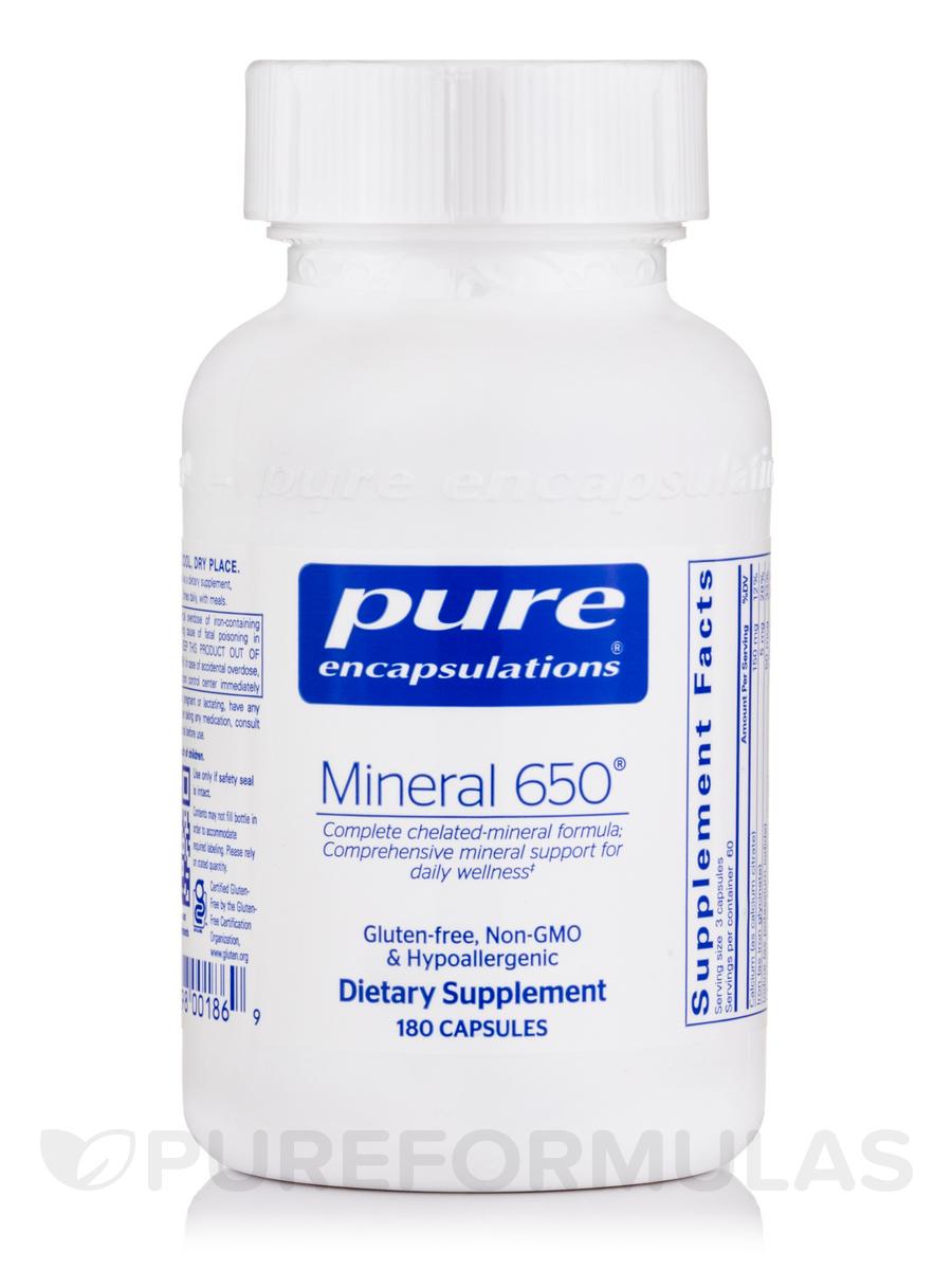 Mineral 650 - 180 Capsules