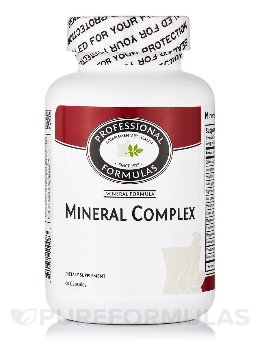 Mineral Complex - 60 Capsules