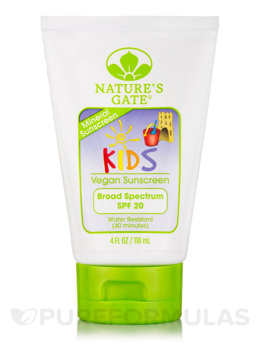 Nature S Gate Mineral Kids Broad Spectrum Spf  Sunscreen