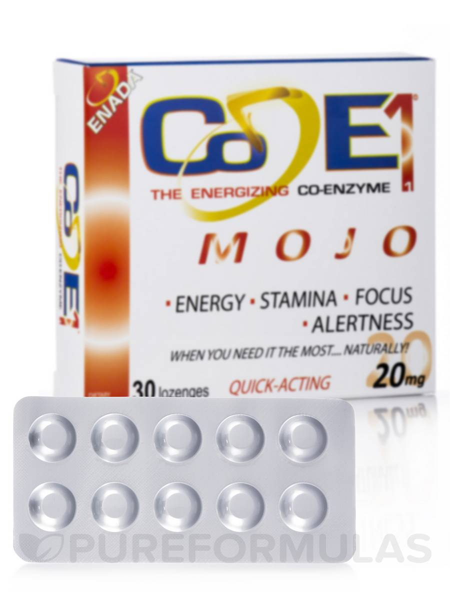 Mojo Plus NADH 20 mg - 30 Lozenges
