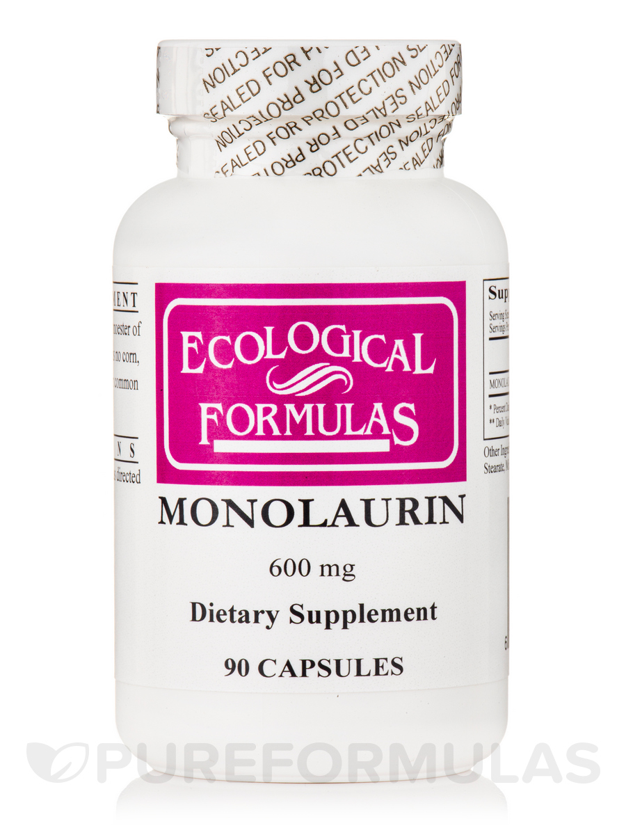 Monolaurin 600 mg - 90 Capsules