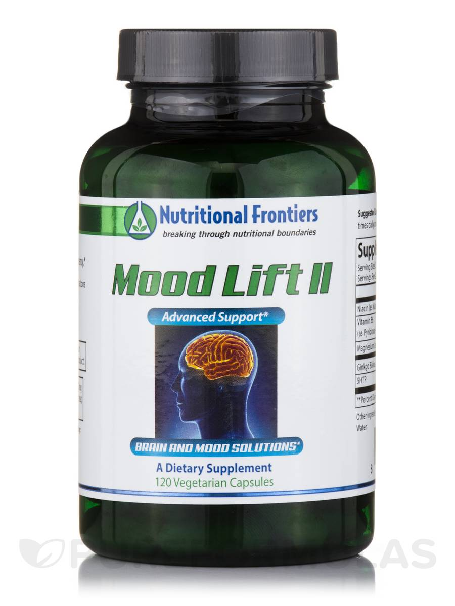 Mood Lift II - 120 Vegetarian Capsules