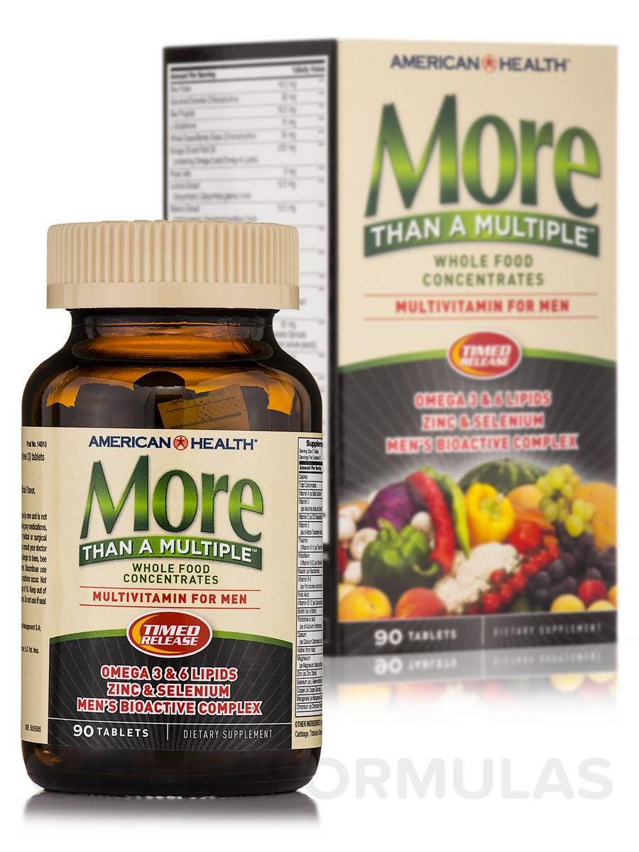 More Than A Multiple™ For Men - 90 Tablets